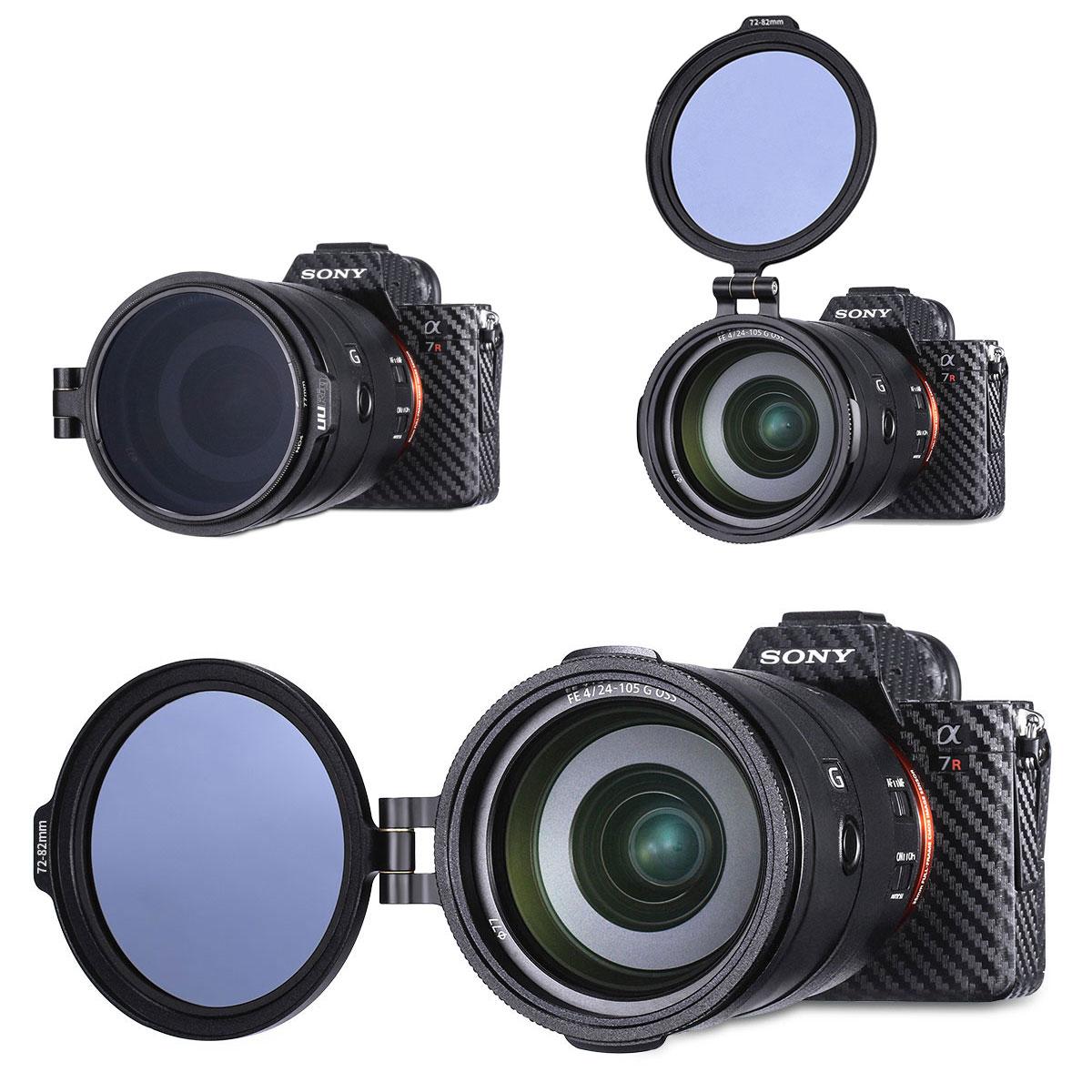 Redukcja do obiektywu na filtr 82mm