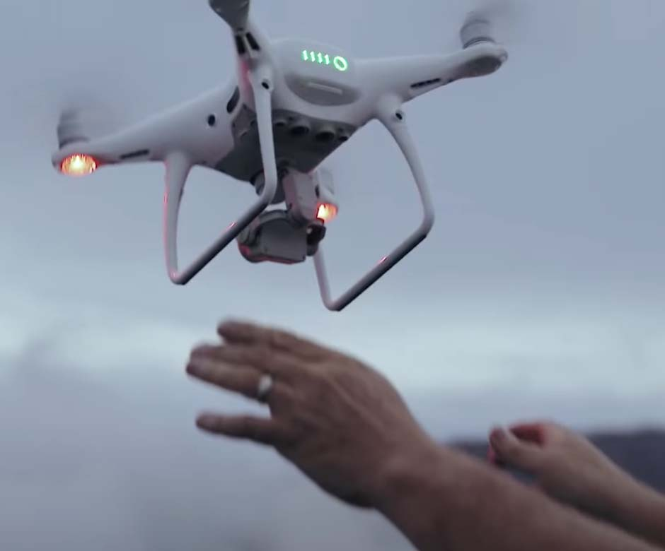 Dron dla profesjonalnego fotografa
