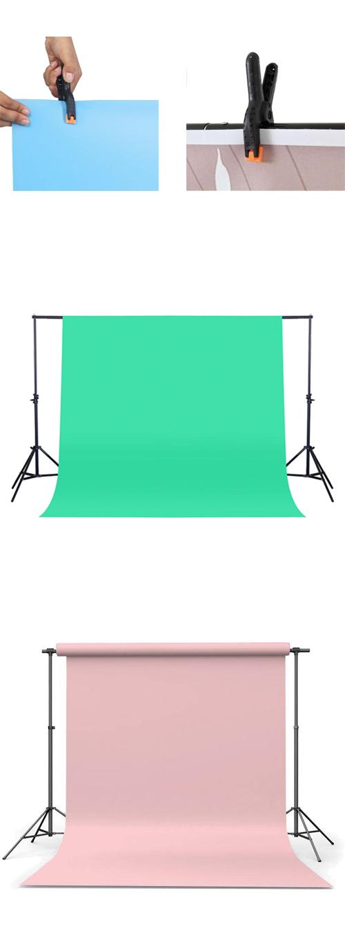 Jak zamocować tło fotograficzne na statywie