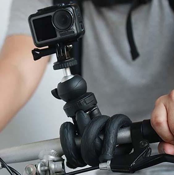 Giętki statyw do kamery sportowej
