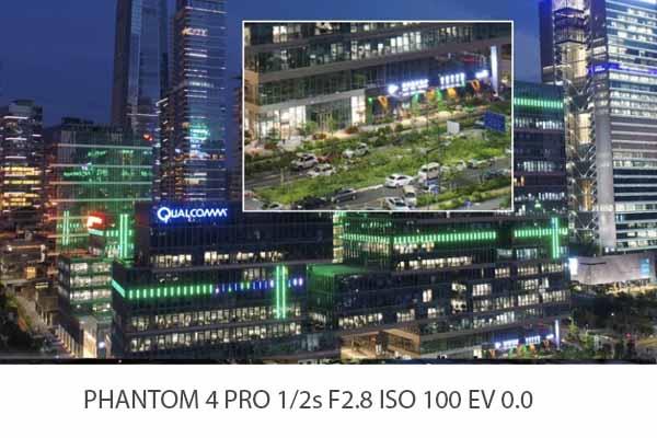 DJI Phantom 4 Pro V2 porównanie zdjęć