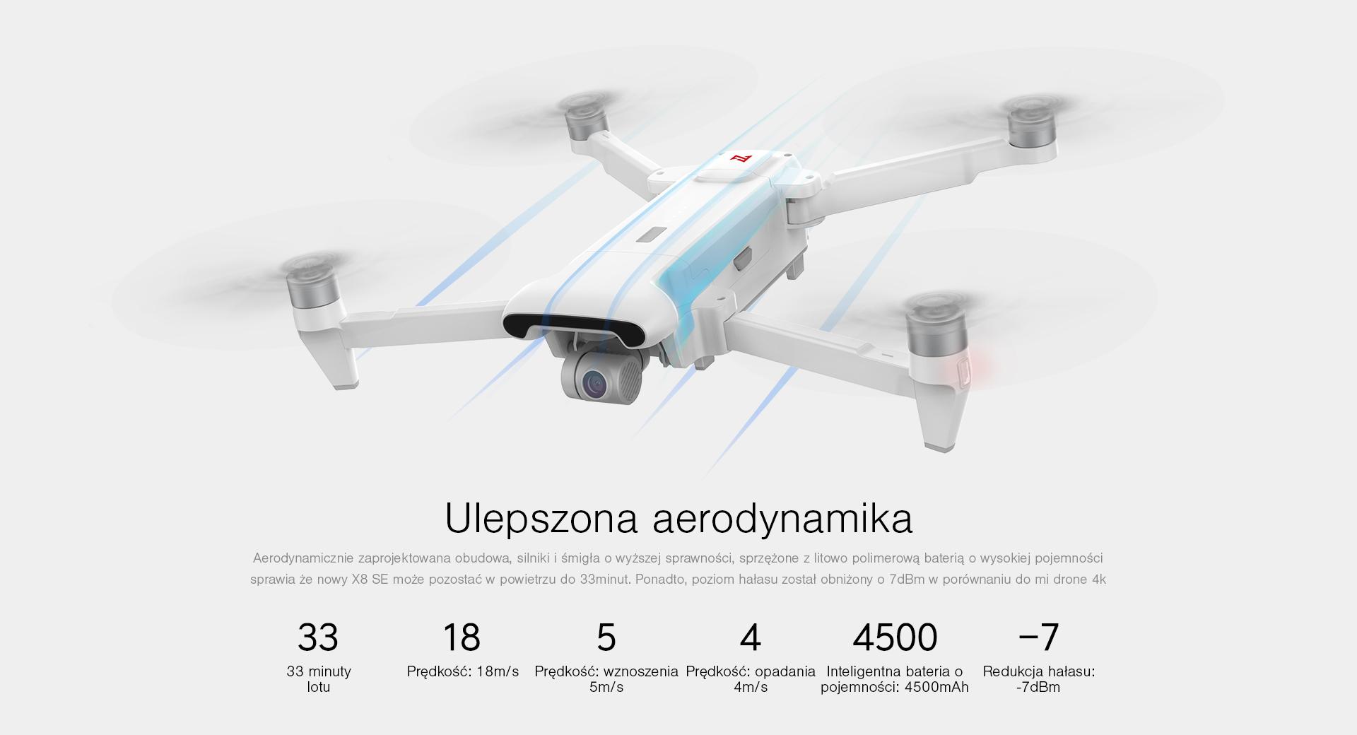 dron o długim czasie lou