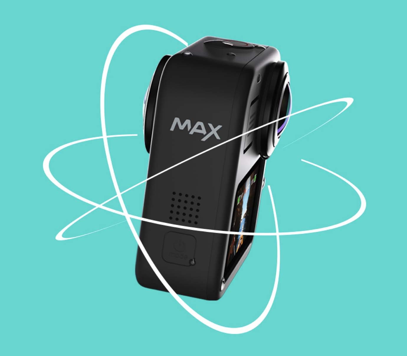selfie GoPro max