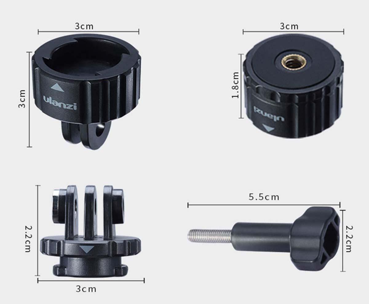 Adapter mocowanie do gopro hero 8 black