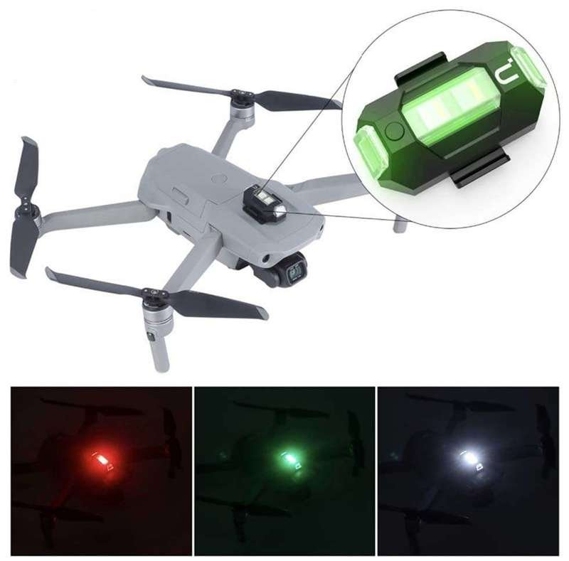 Lampa LED Stroboskop Oświetlenie do Drona DJI Mavic Mini 2 Air Xiaomi FIMI